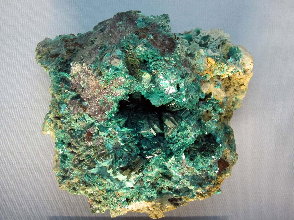 Emerald Green Chalcophyllite from Gwennap