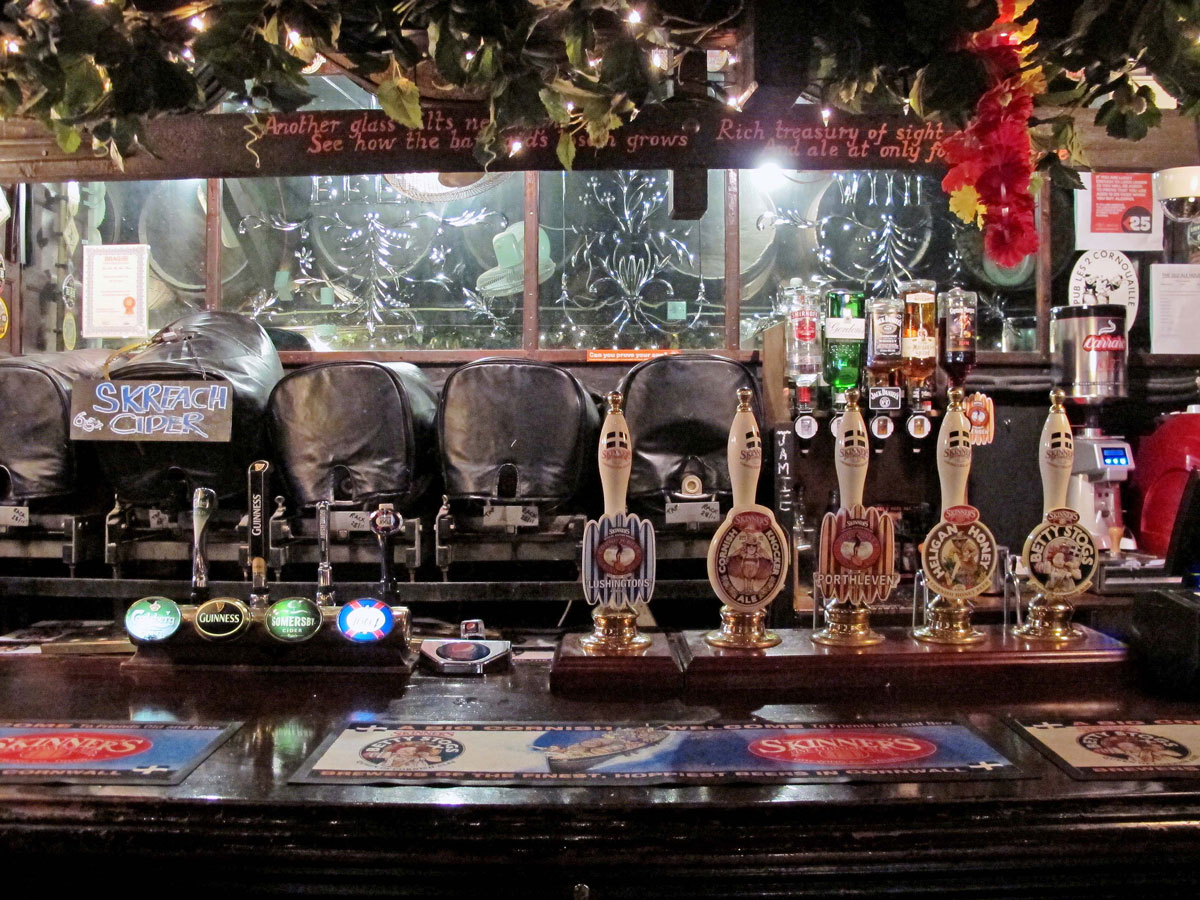 The Bar in the Old Ale House