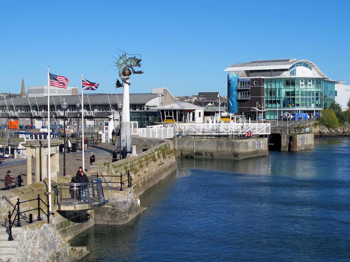 West Pier, The Prawn and the National Marine Aquarium