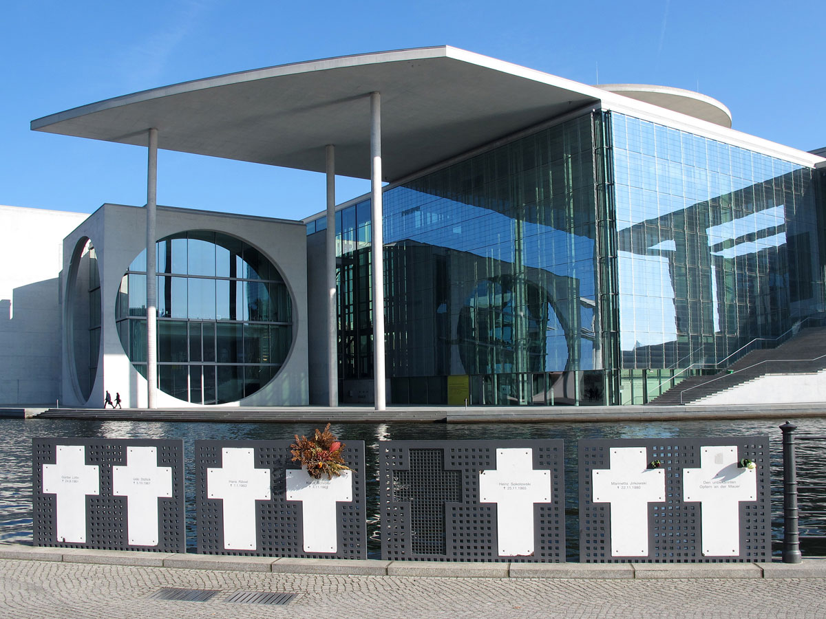 Official Memorial to Victims of the Berlin Wall