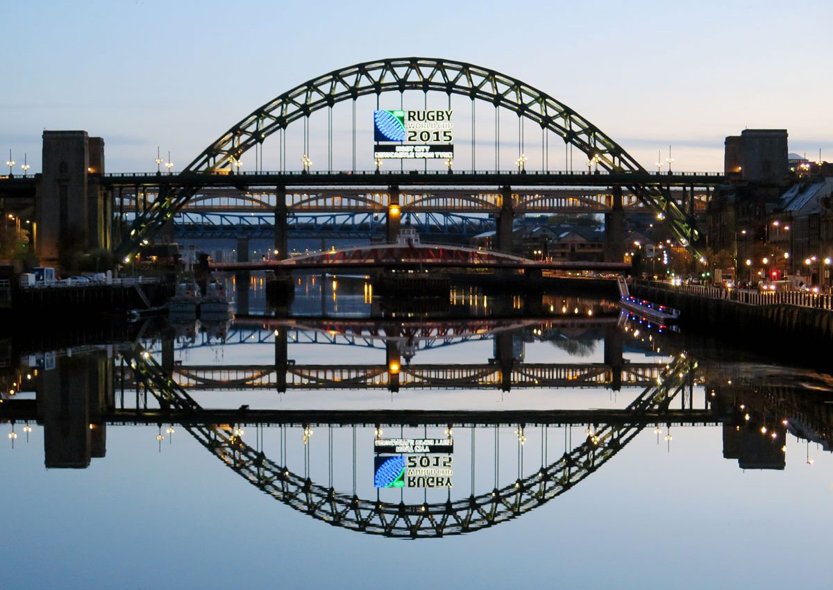 The River Tyne at Newcastle