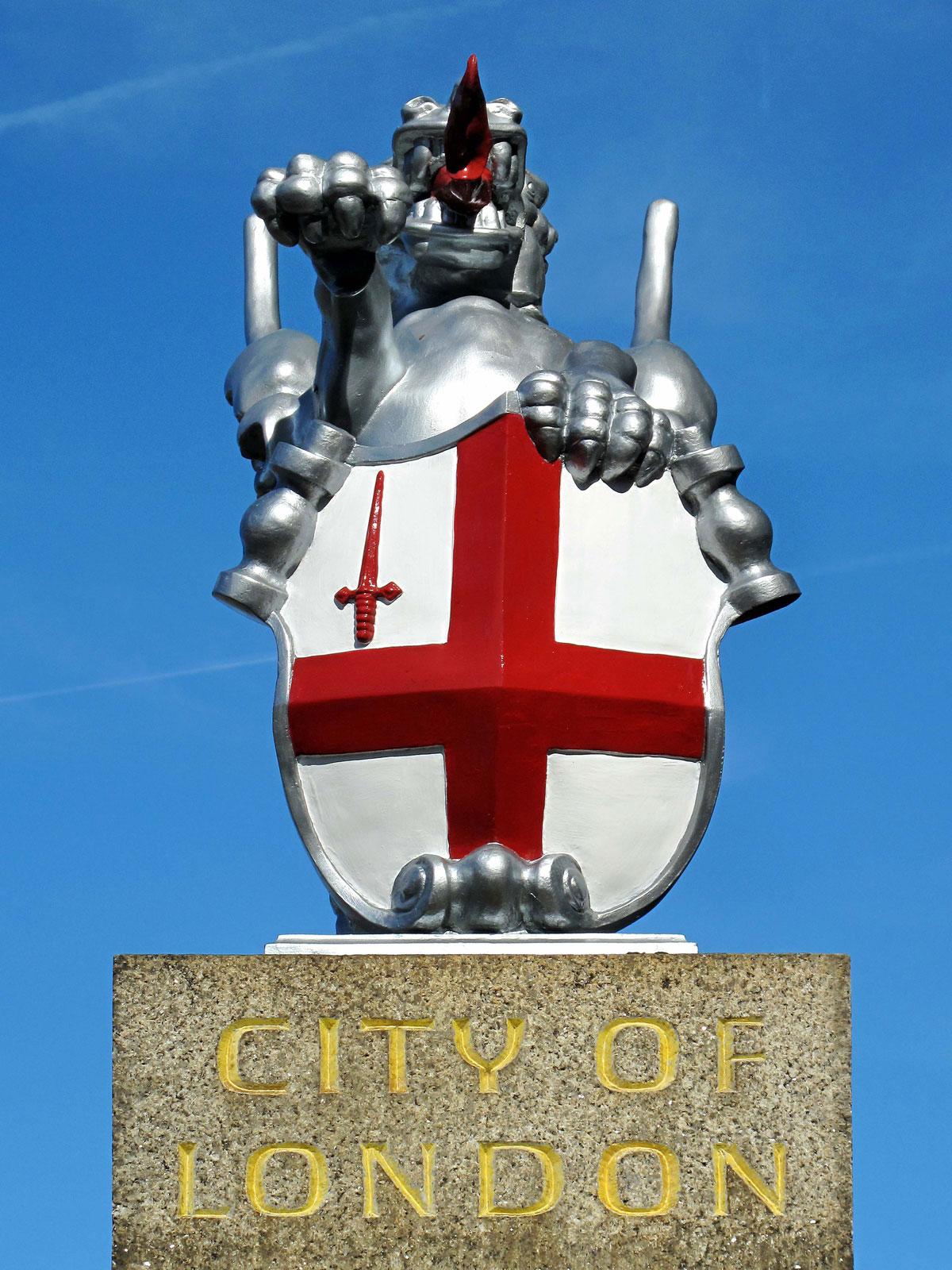 City of London Boundary Marker