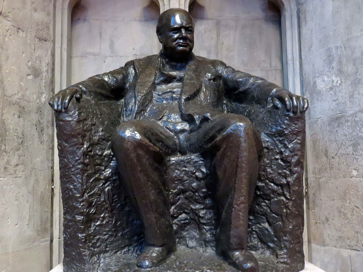 Statue of Sir Winston Churchill