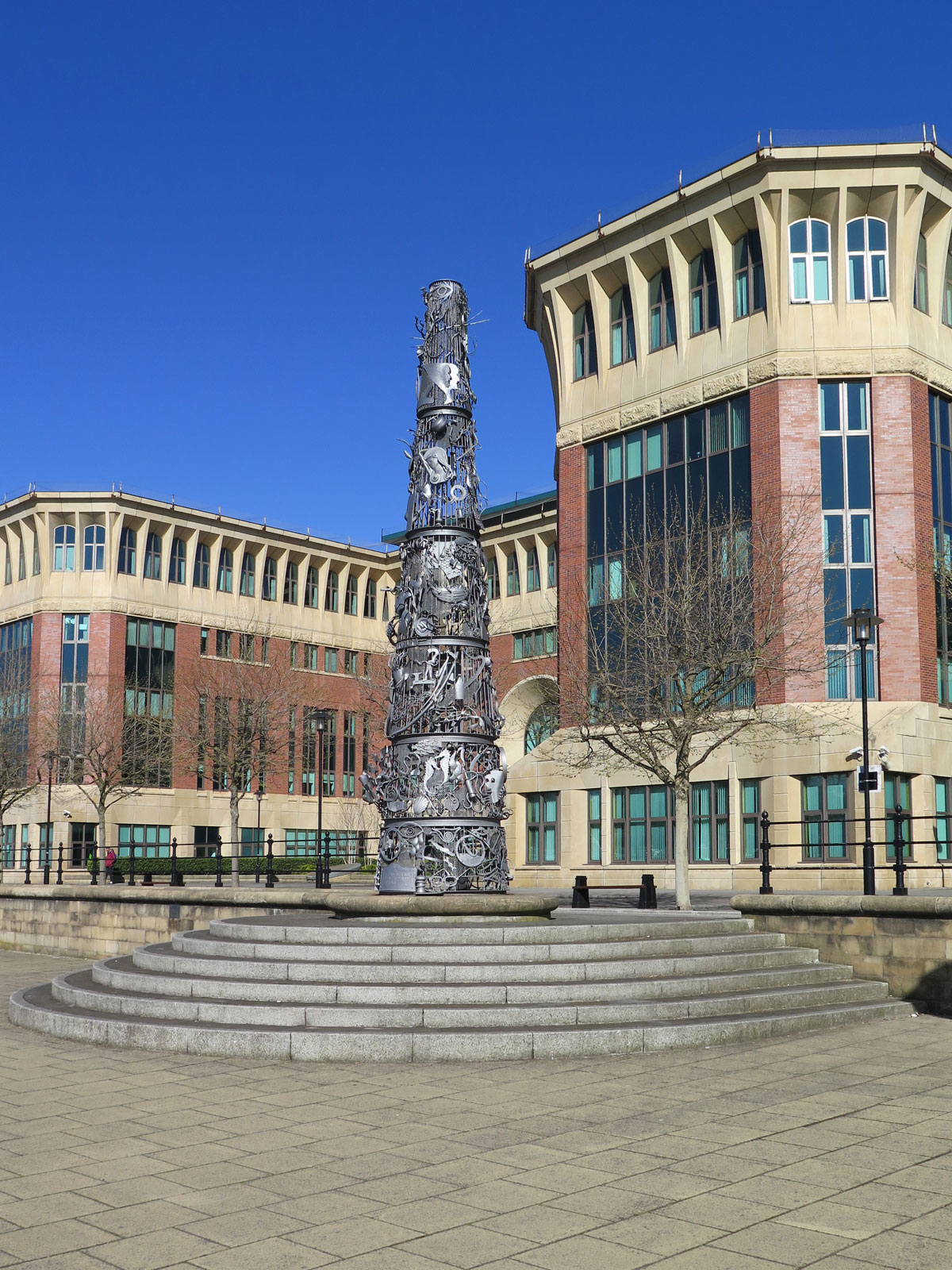 The Blacksmith's Needle Sculpture