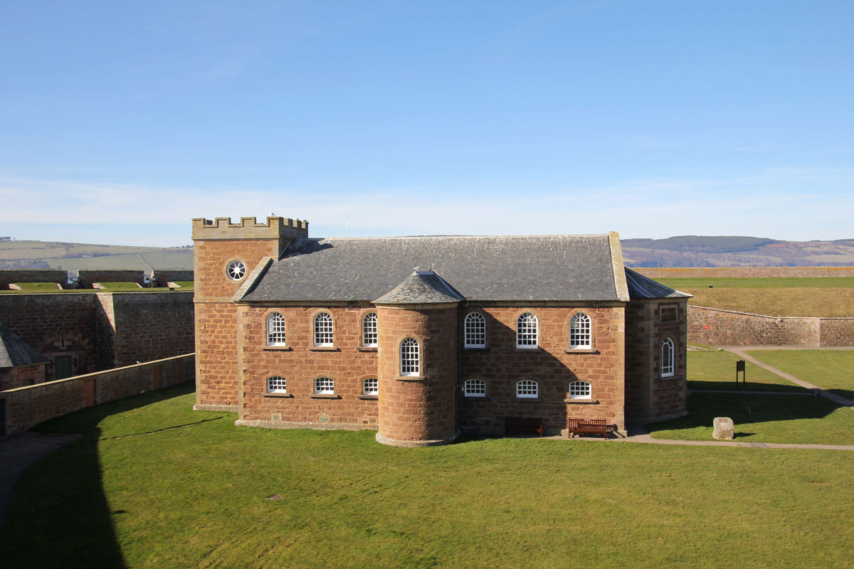 The Garrison Chapel at Fort George