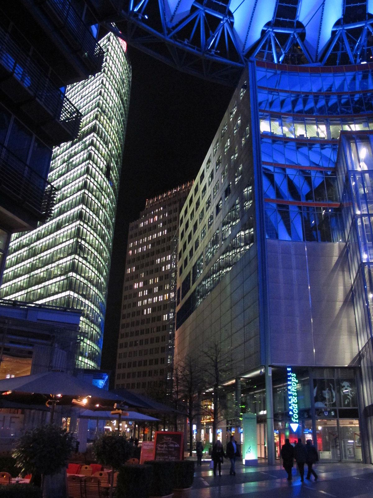 Potsdamer Platz from the Sony Center