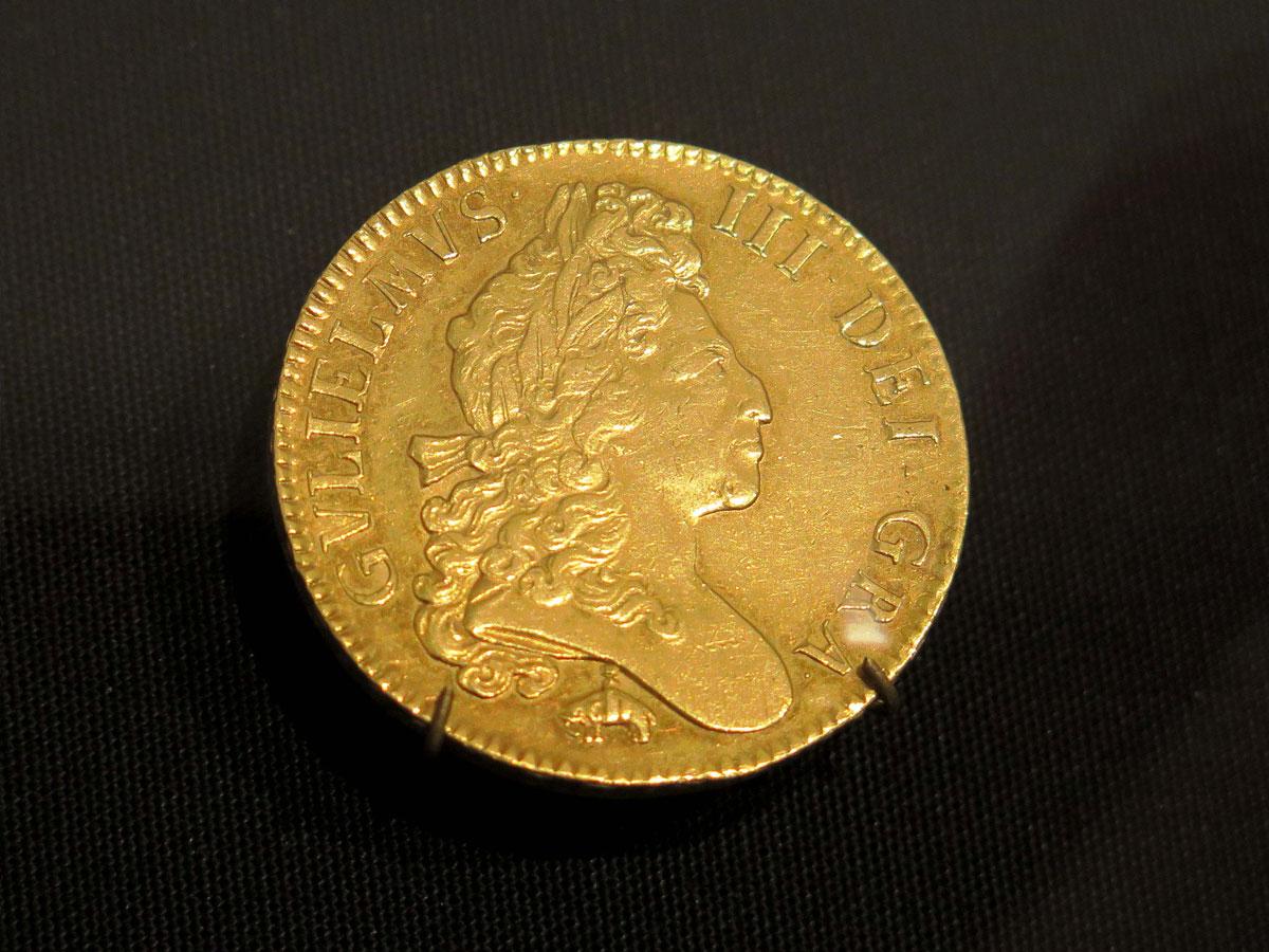 William III Five Guinea Coin (1699)