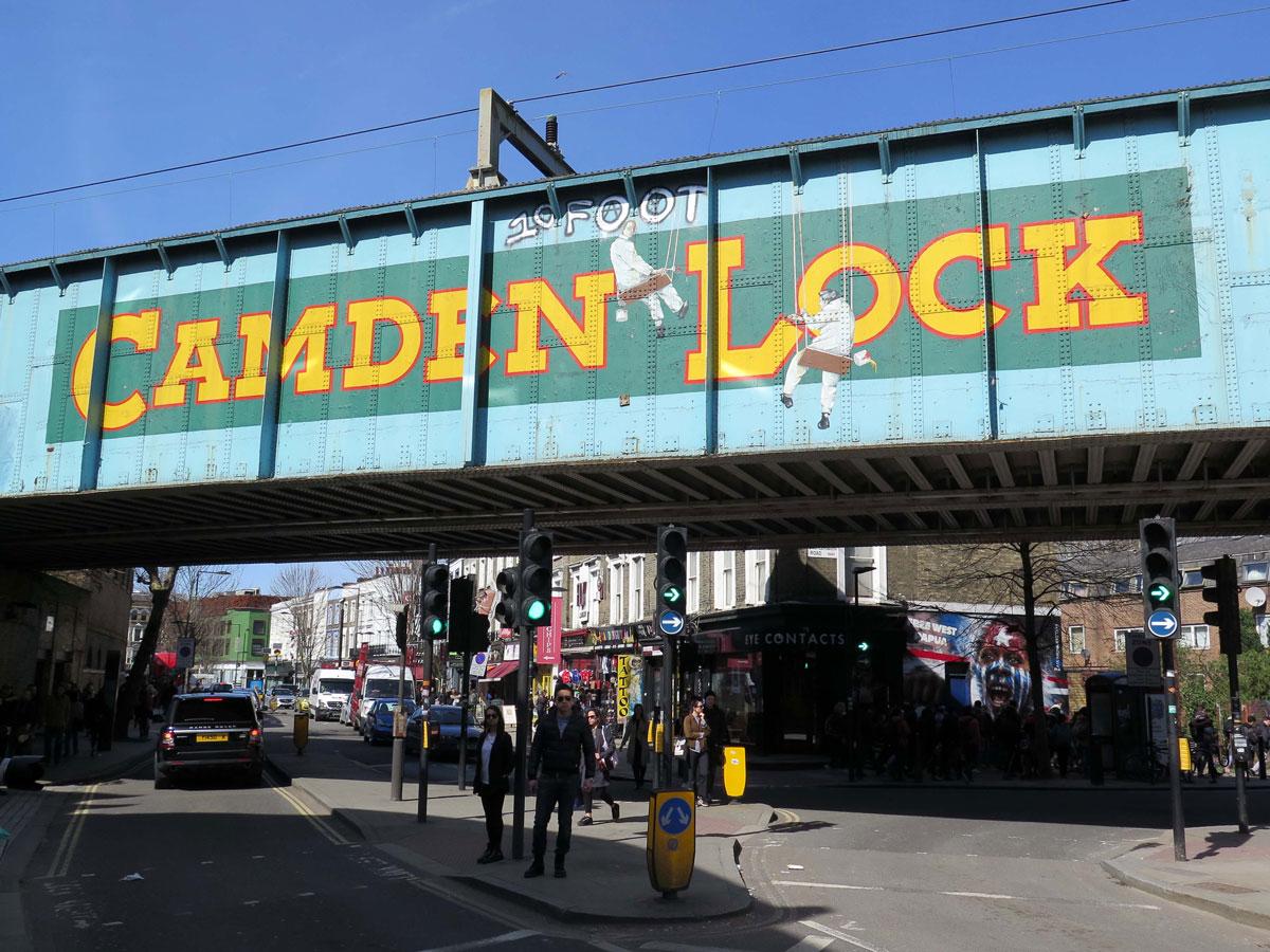 Camden Lock Railway Bridge
