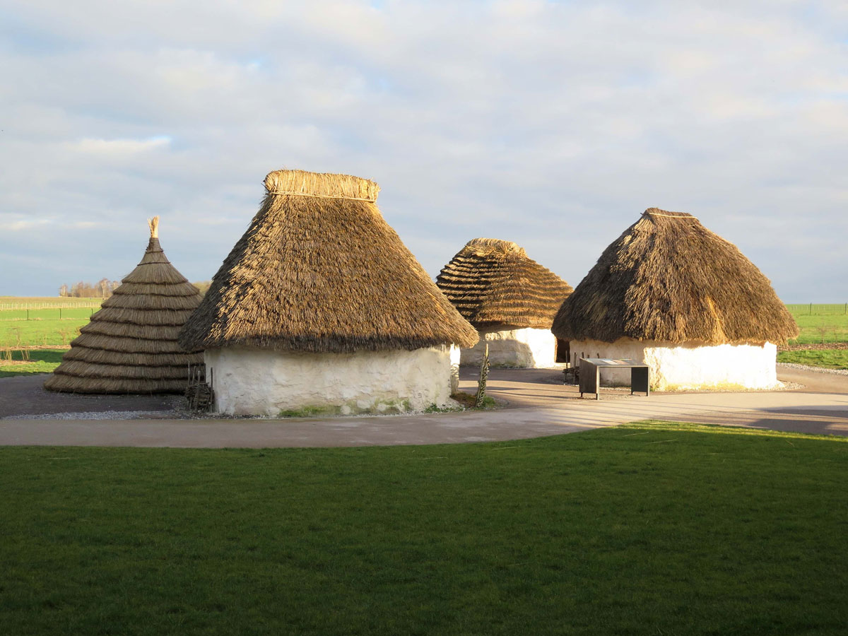 Reconstructed Neolithic Village