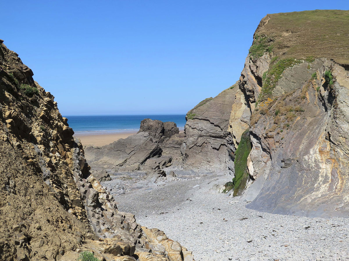 Rocks at Sandymouth