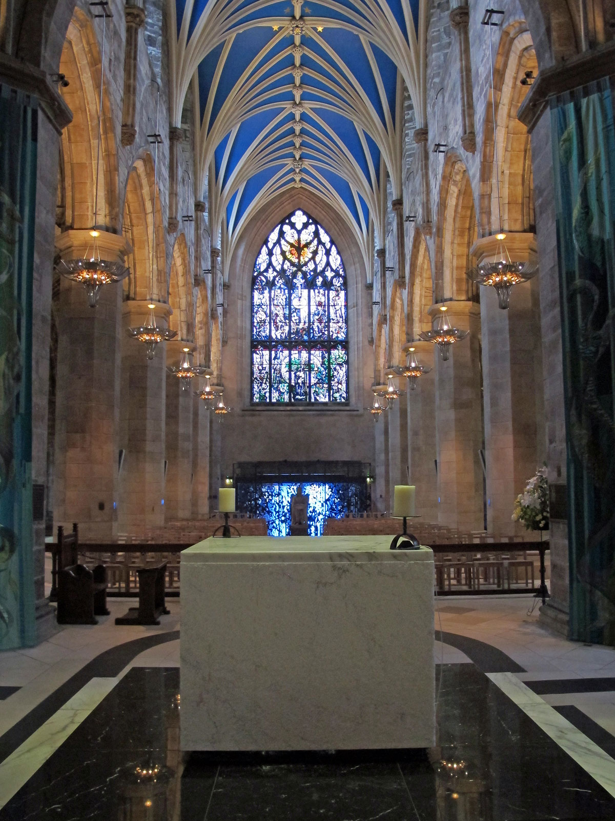 View from the Chancel