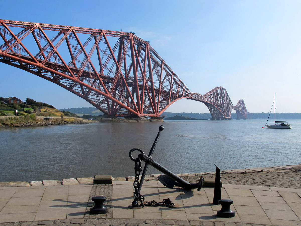 The Bridge as seen from North Queensferry