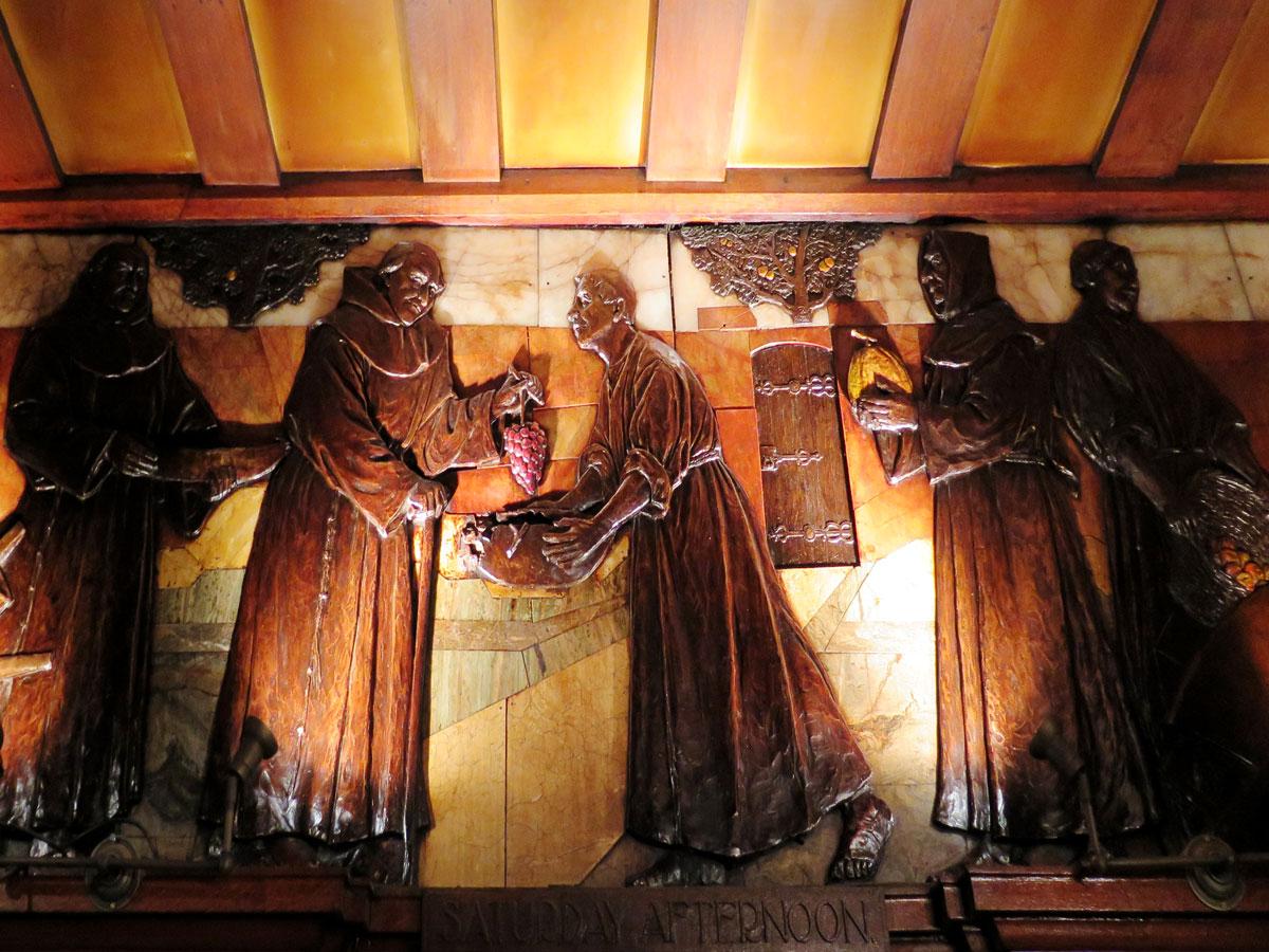 Blackfriars inside the Blackfriar