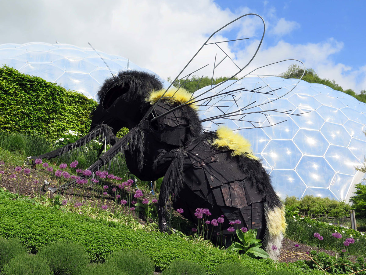 Sculpture in the Pollination Garden