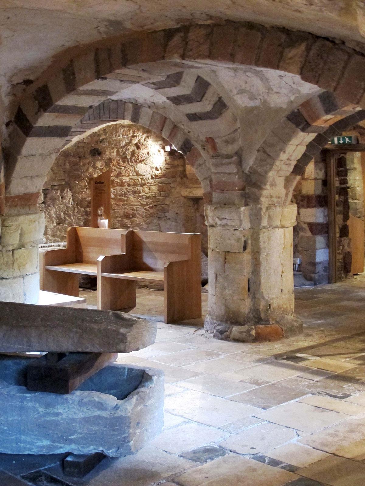 St Nicholas Priory - The Cellar
