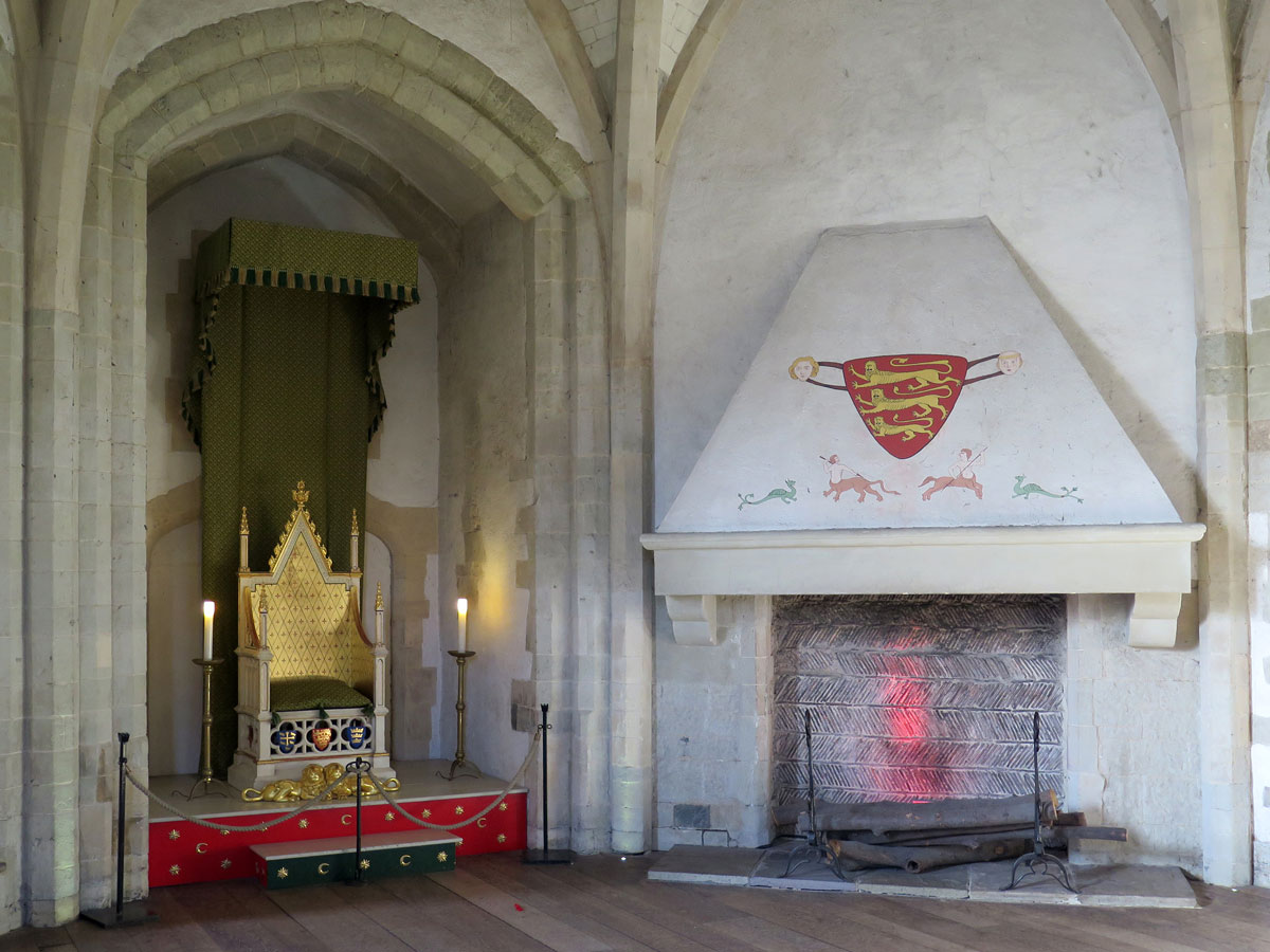 The Throne Room in the Wakefield Tower