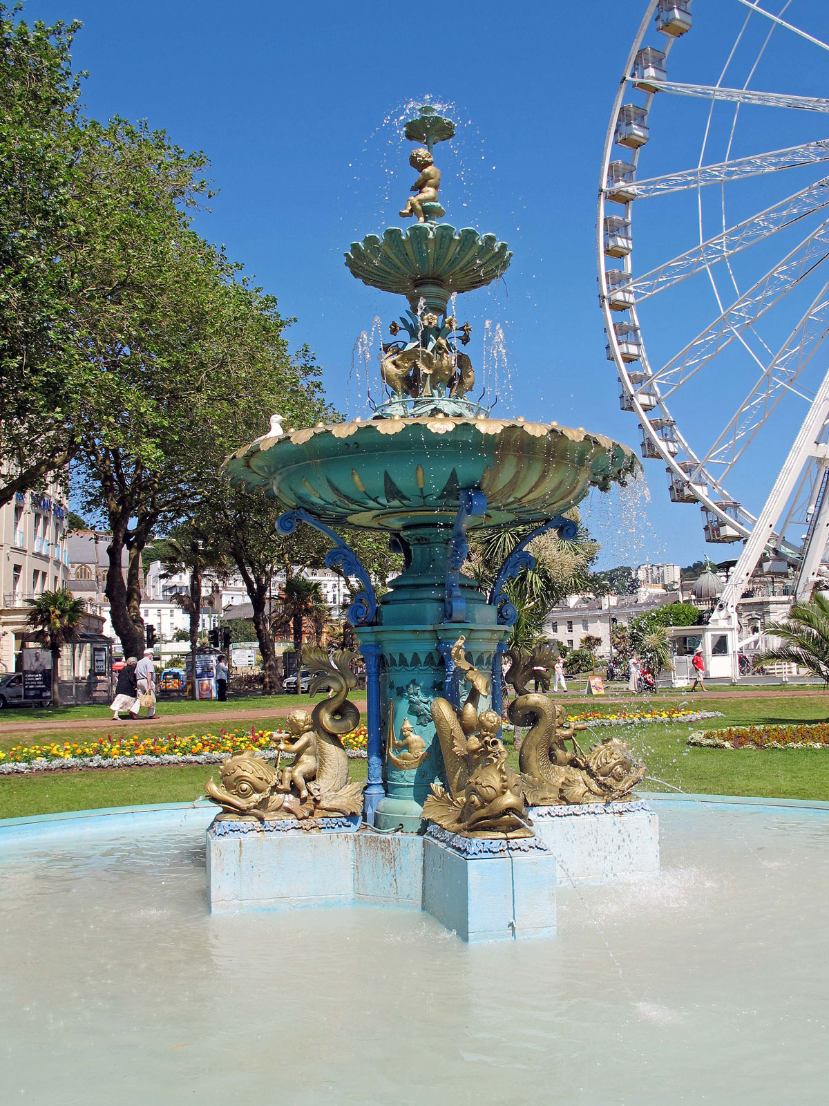The Fountain in Princess Gardens