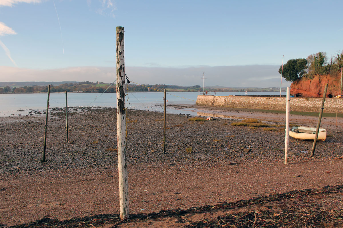 Washing Lines on the Foreshore