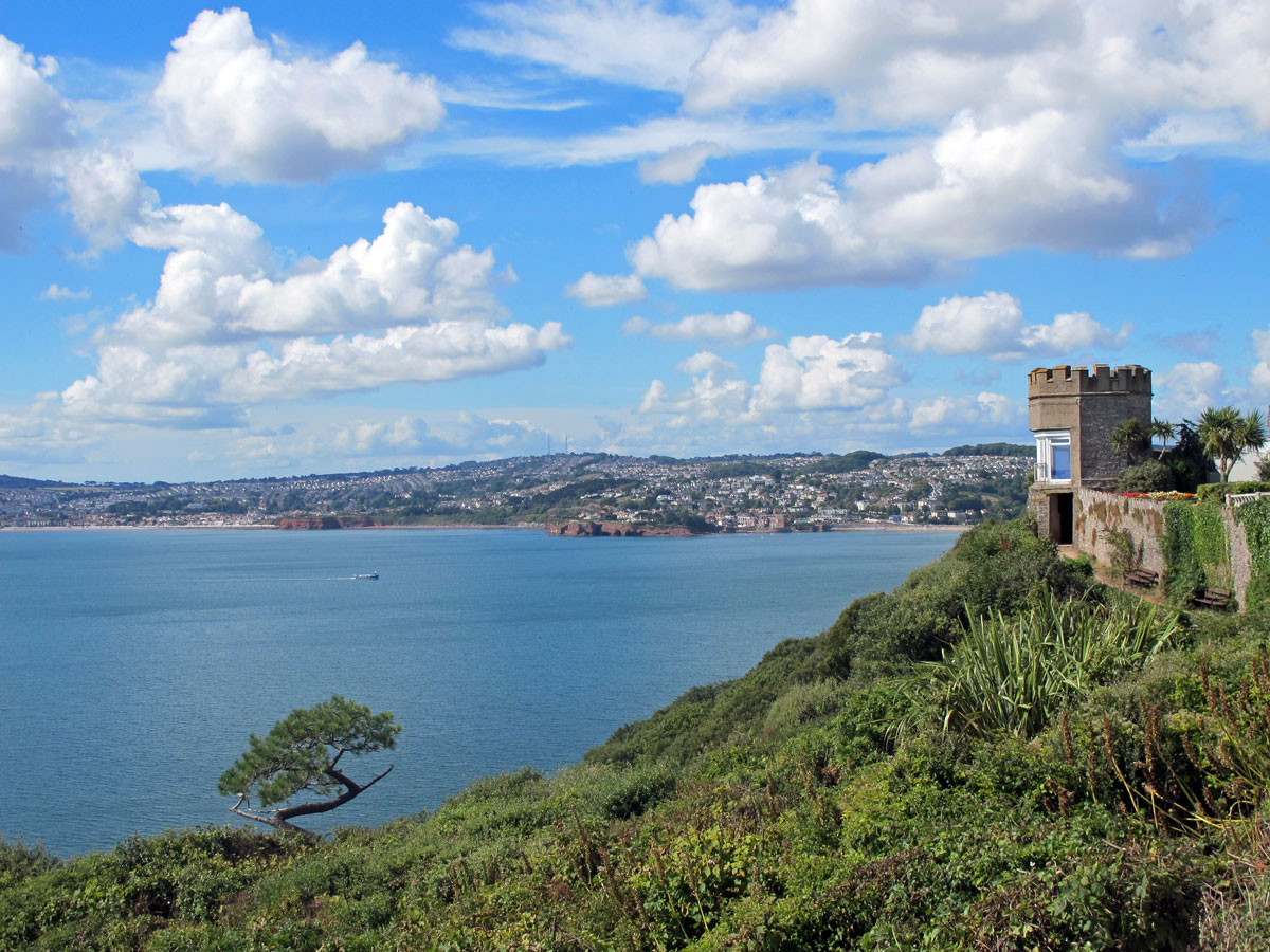 The View from Rock Walk looking towards Paignton