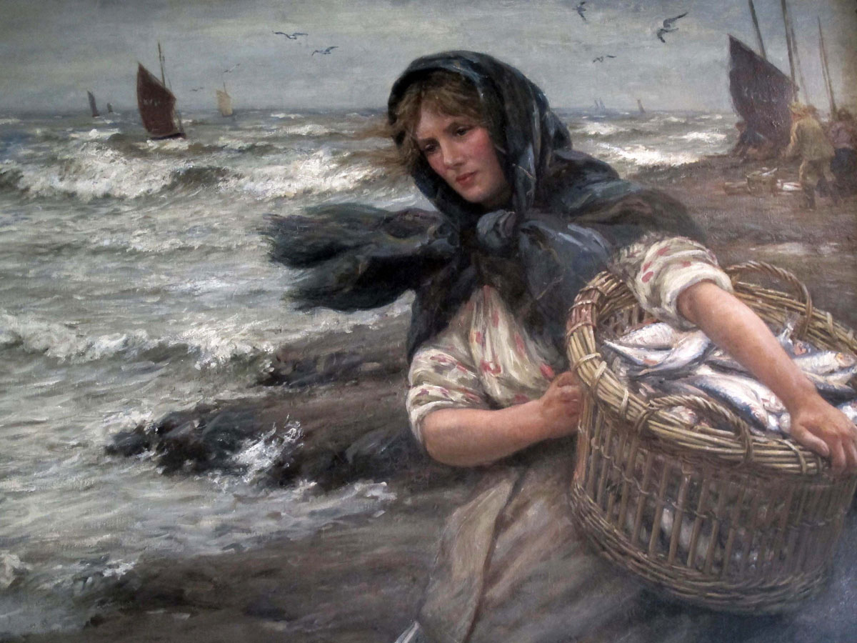 The Fisher Lass by John McGhie