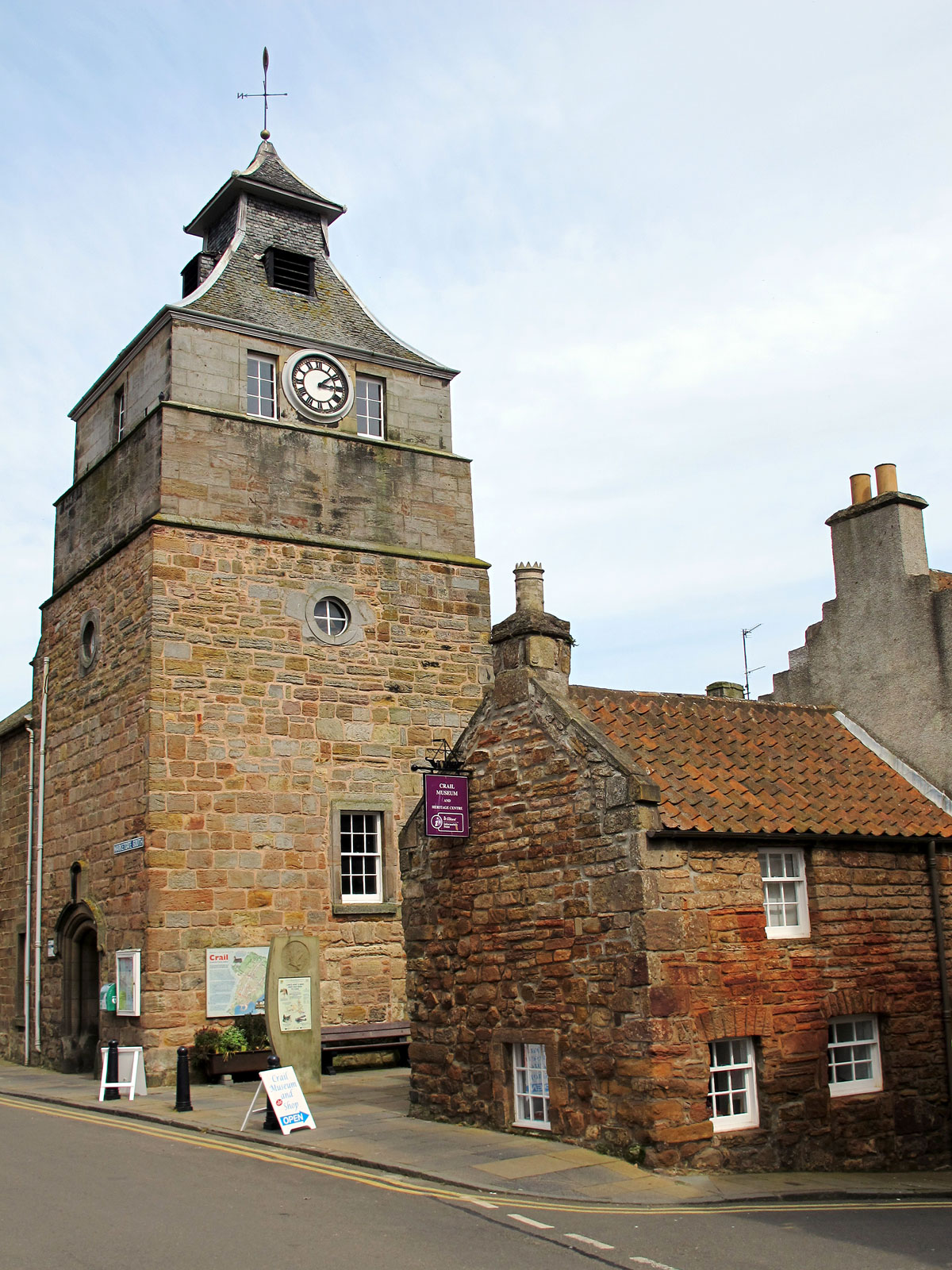 Crail Town Hall and Museum