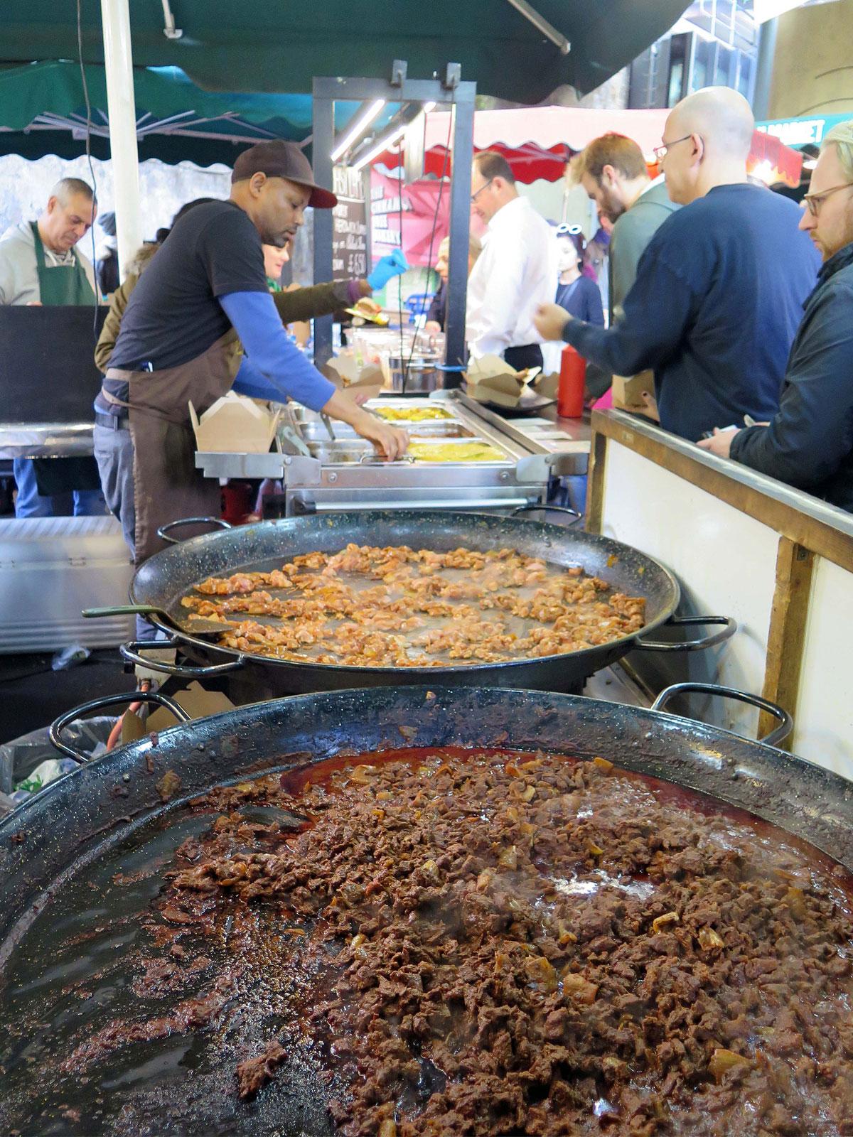 Street Food in the Green Market