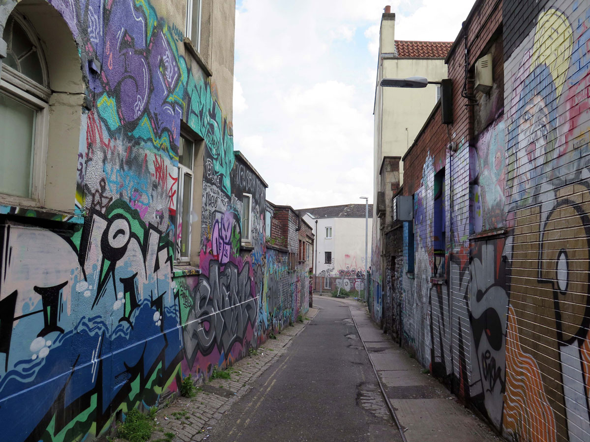 Hepburn Road, otherwise known as Crack Alley