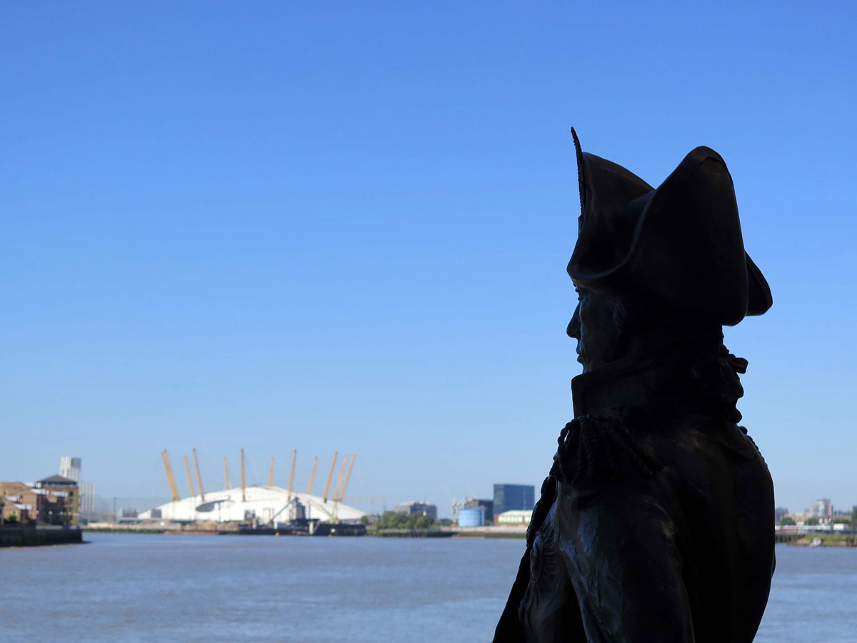 Lord Nelson at the Trafalgar Tavern