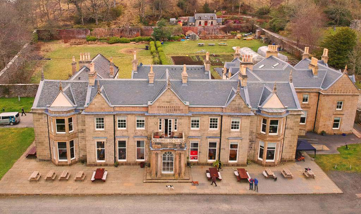 Raasay House as it looks now © Raasay House