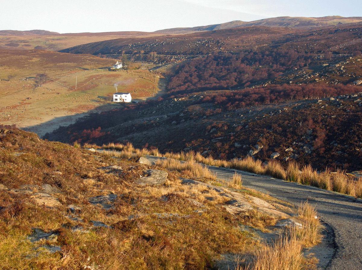 The road to Brochel