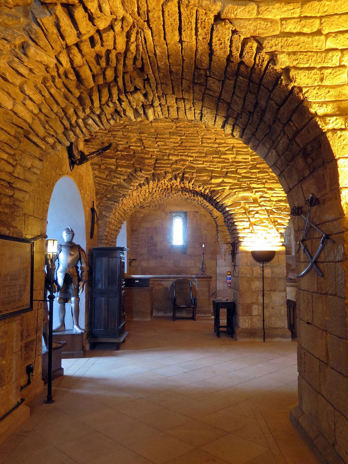 Inside the Keep