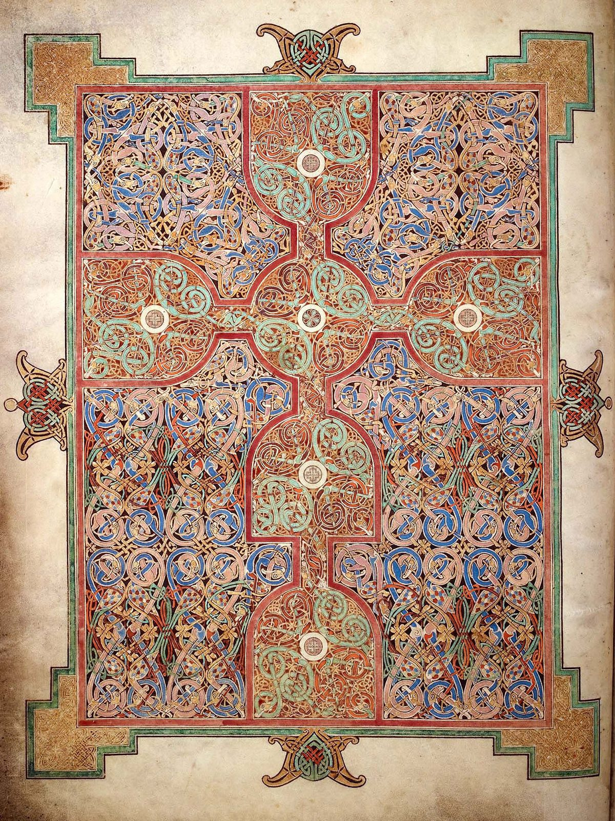 Carpet Page ©British-Library