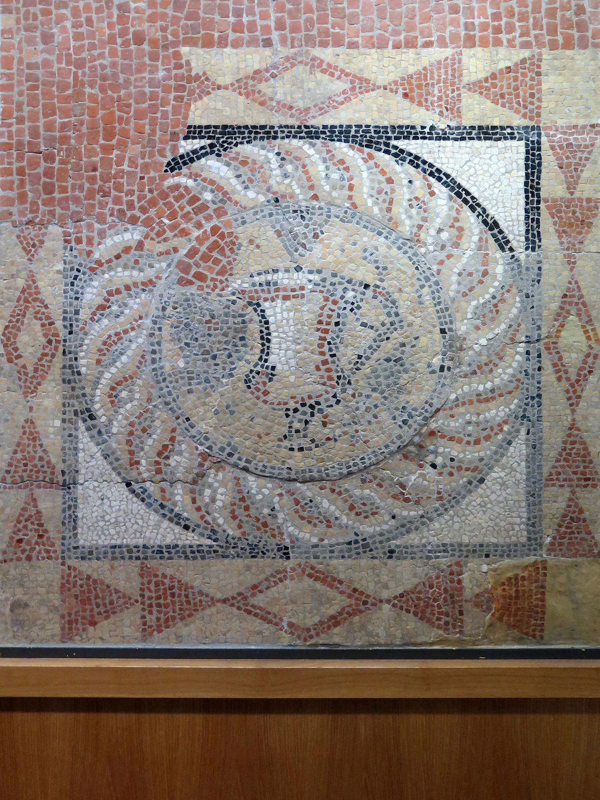 Roman Mosaic found in Burgate Street