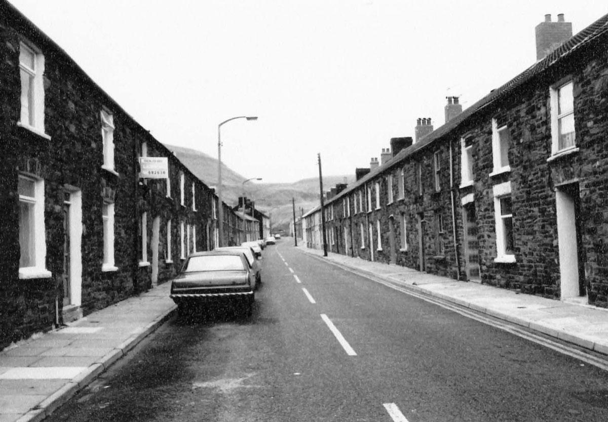 Blaenrhondda's main street - Brook Street