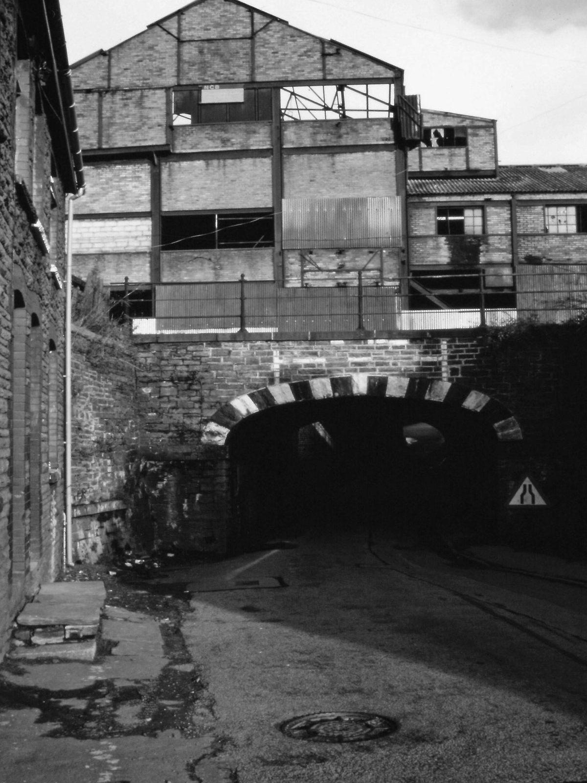 Demolition of the Lewis Merthyr Colliery at Trehafod