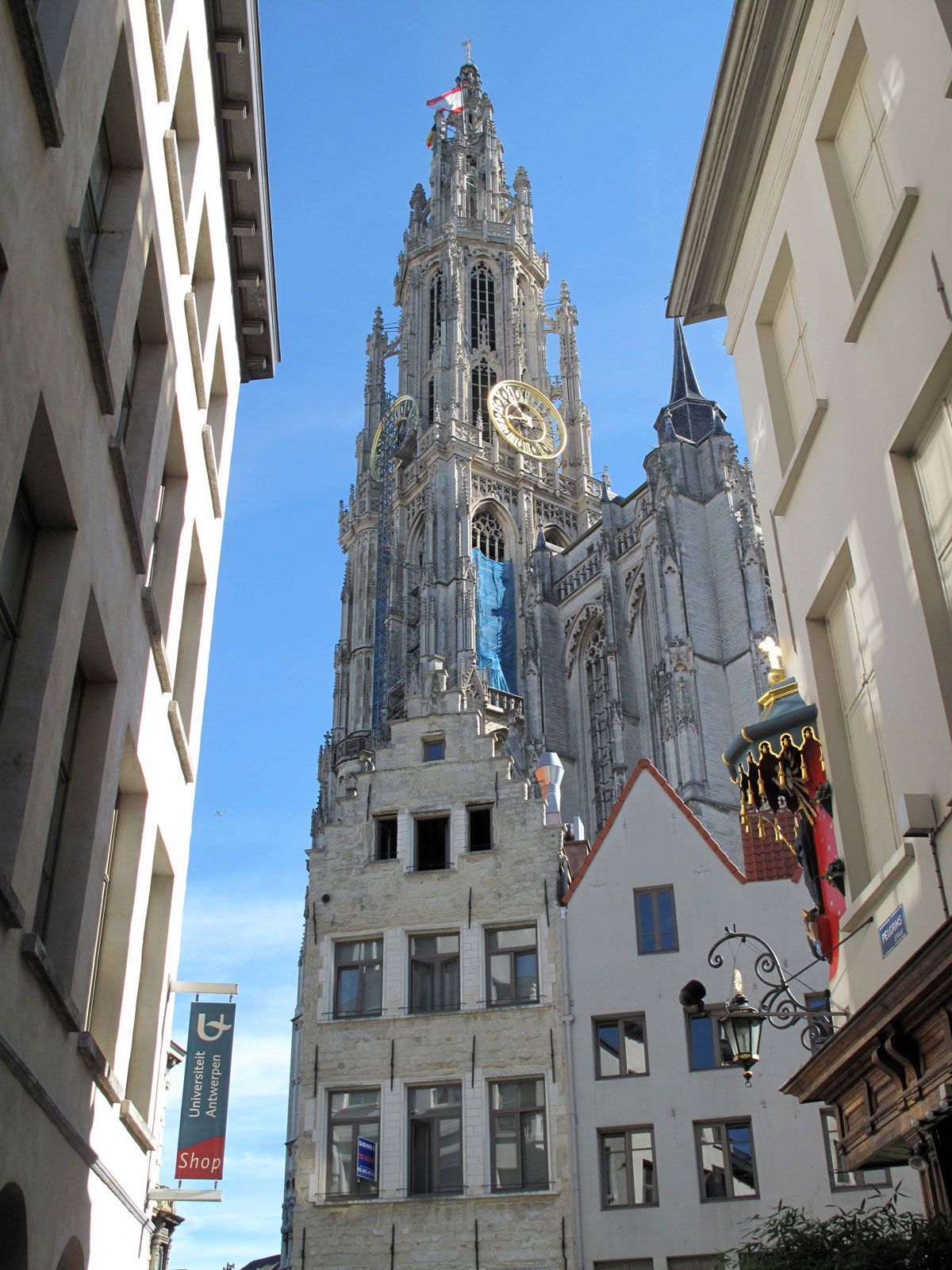 The Cathedral from Pelgrimstraat
