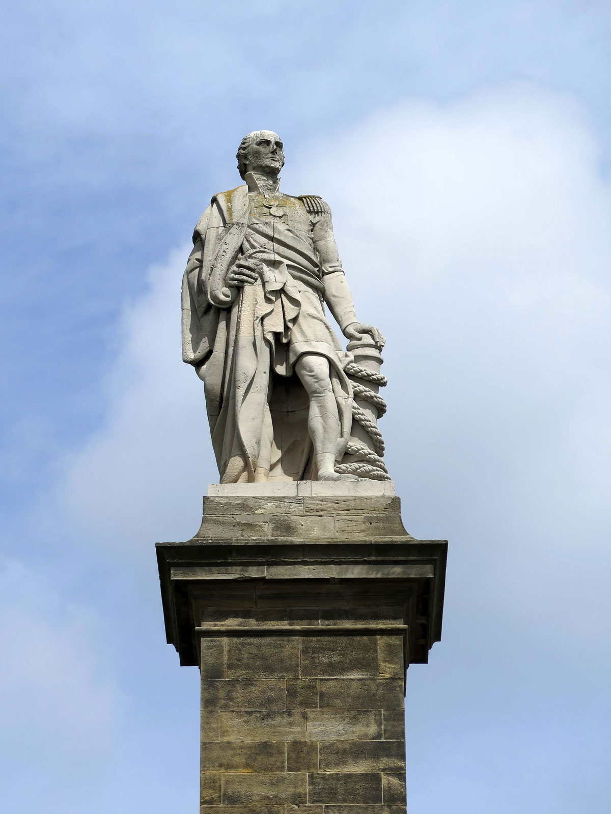 Statue of Baron Collingwood