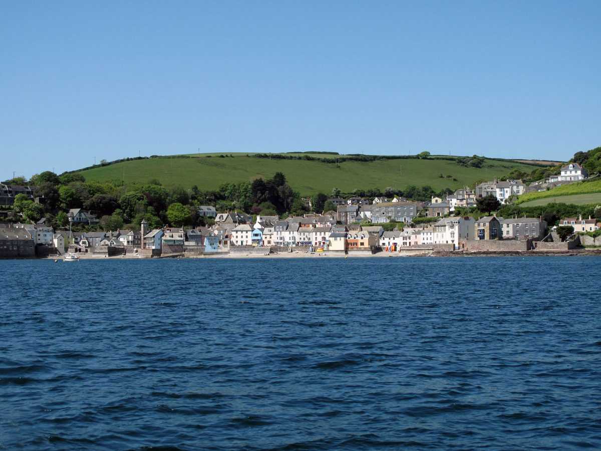 Kingsand from Cawsand Bay