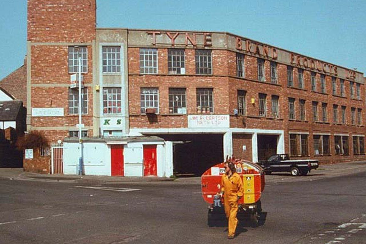 The Tyne Brand Factory prior to demolition (News Guardian)