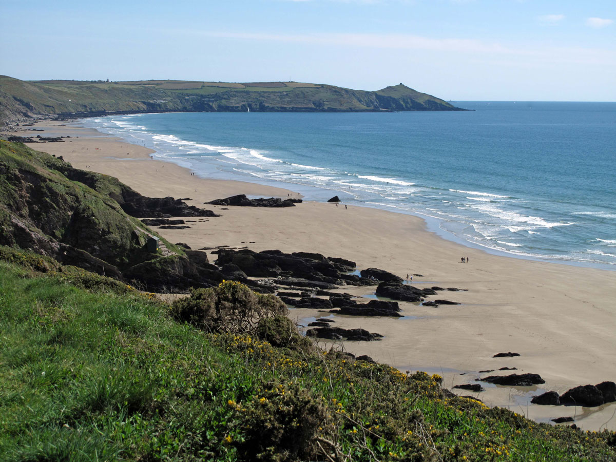 Rame Head from Whitsand Bay