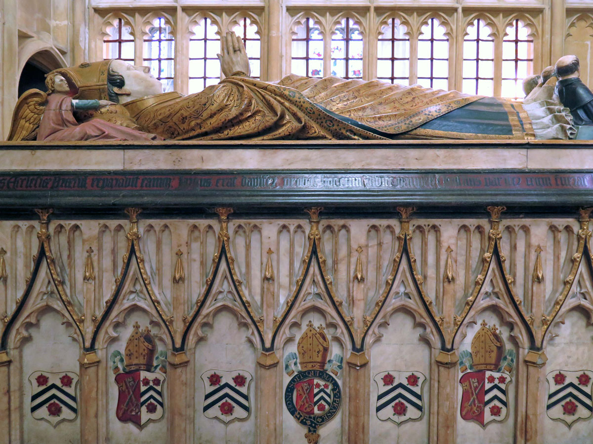 Bishop William of Wykeham's Tomb