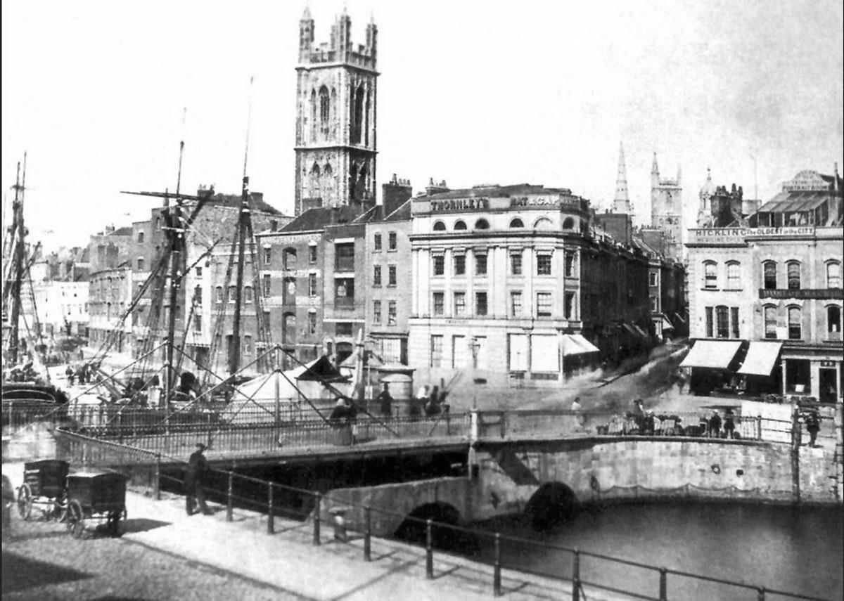 The Drawbridge in the 1860s