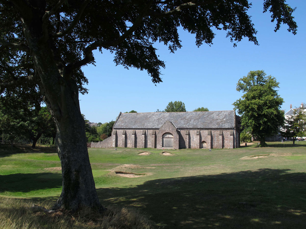 The Spanish Barn from Torre Abbey Meadows