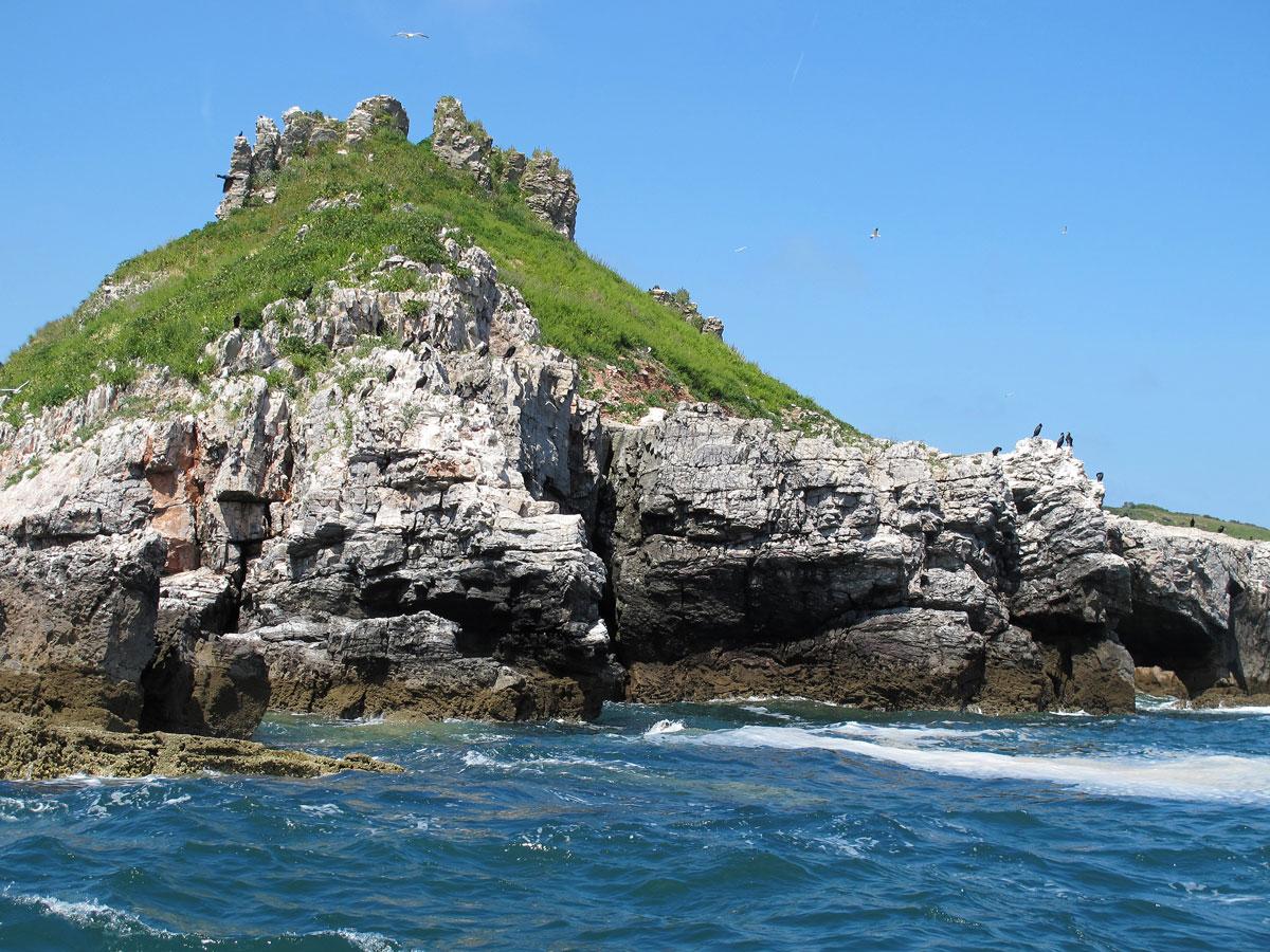 A Closer look at Thatcher Rock