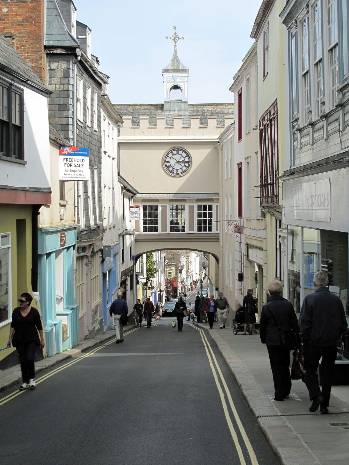 The Eastgate Arch from High Street