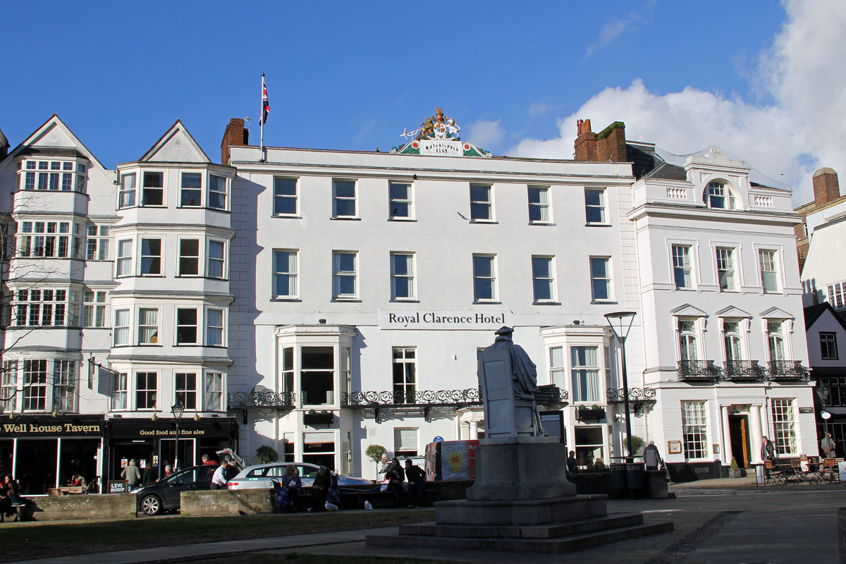 The Royal Clarence Hotel in 2014