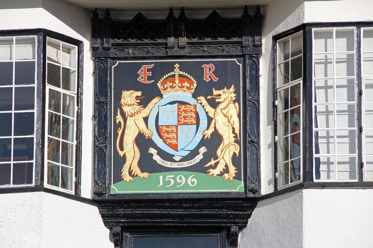 Elizabeth I Coat of Arms